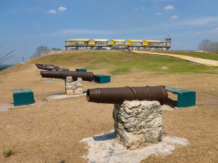 Cannons at the fort
