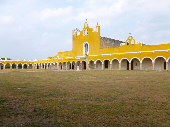 Another view of the church and cloister.