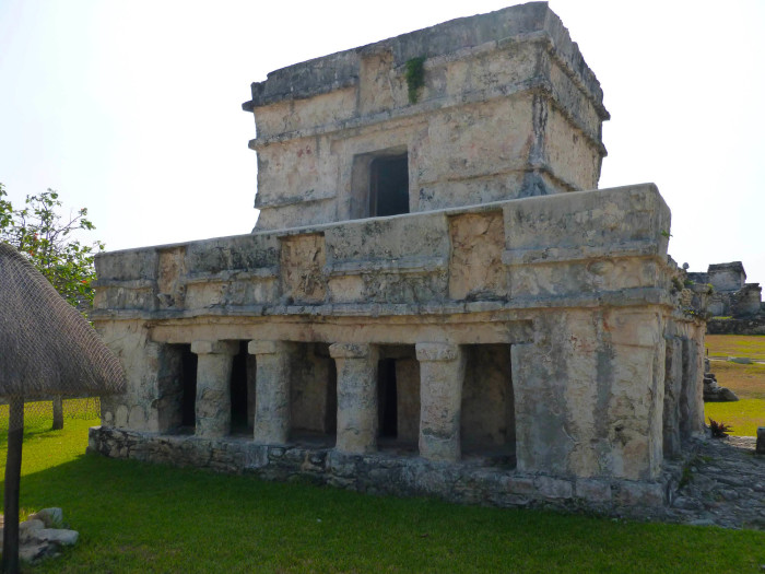 Another building at Tulum