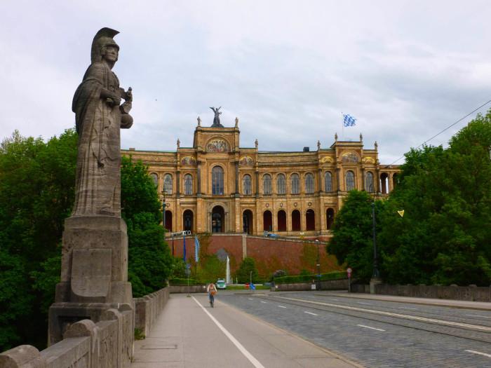 The Maximilianeum, seat of the Bavarian parliament
