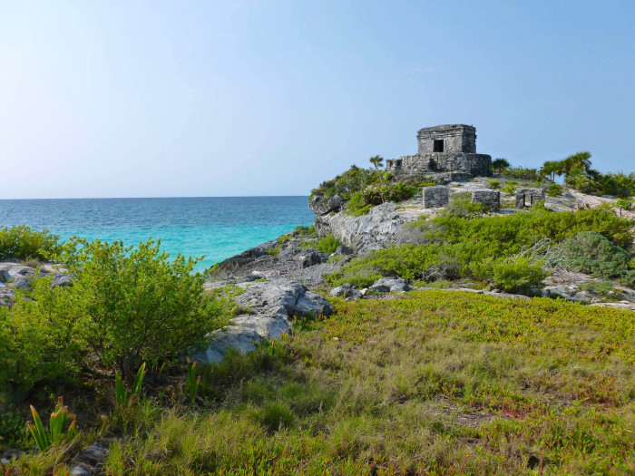 A smaller ruin at Tulum