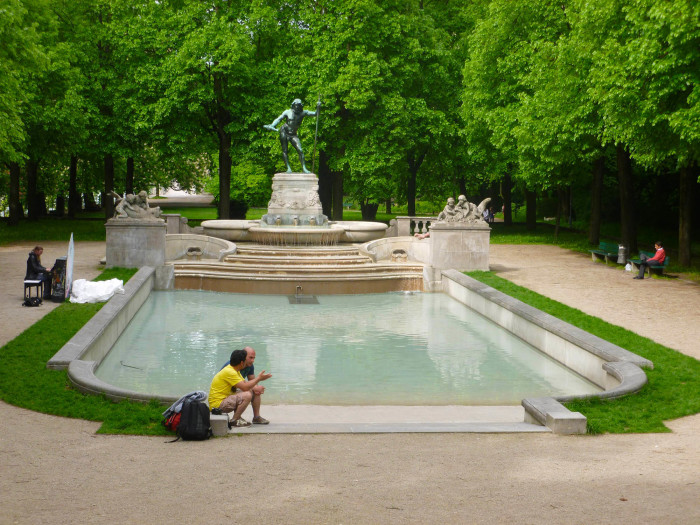 A park on Museum Island