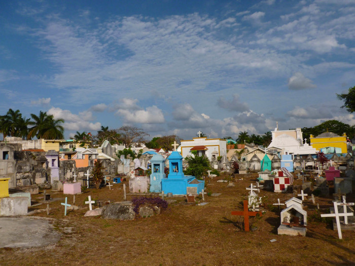 One of the Cozumel cemeteries