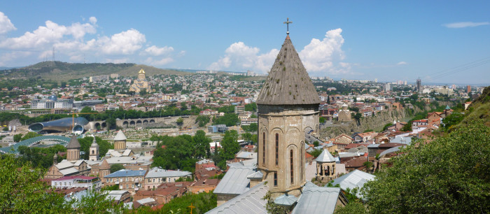 Overview of Tbilisi