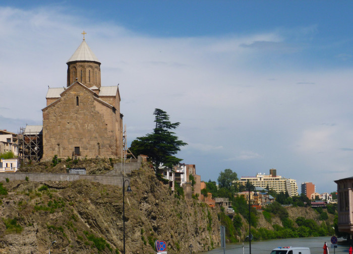 Metekhi is one of Tbilisi's more iconic churches.