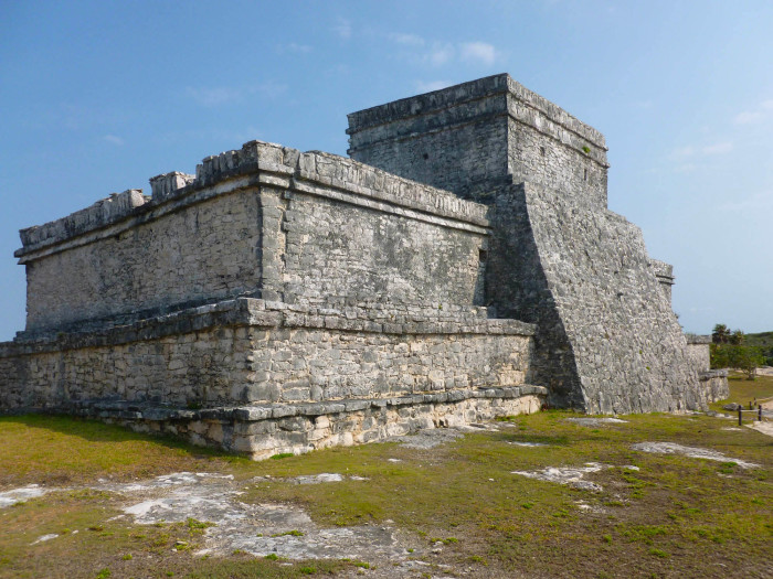 The Castillo, the largest building at Tulum