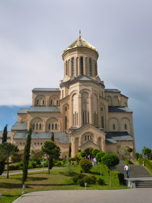 Sameba, the world's third-largest eastern orthodox cathedral
