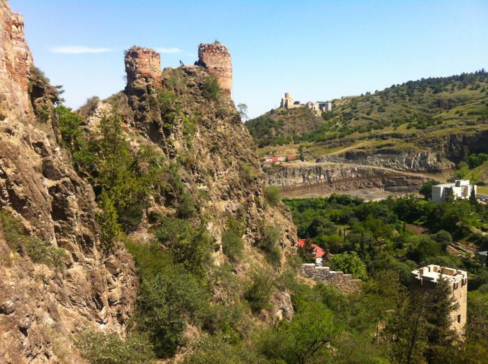 Ruins of the ancient Narikala Fortress