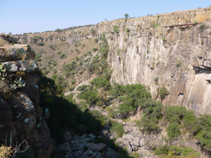 The gorge at the Botanical Gardens