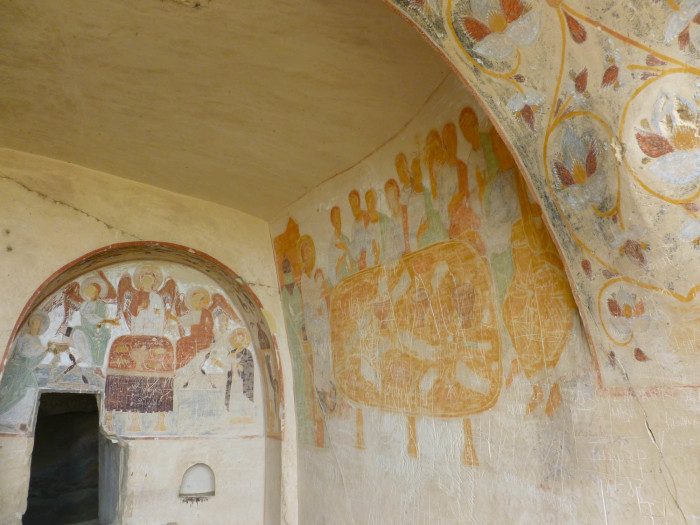 More thousand-year-old frescos at Udabno