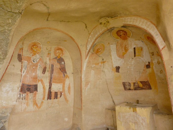 Still more thousand-year-old frescos