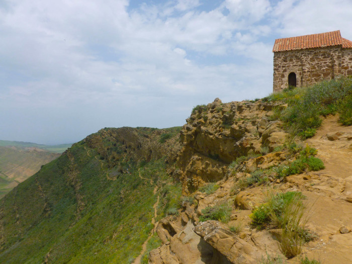 A little church on top of the mountain
