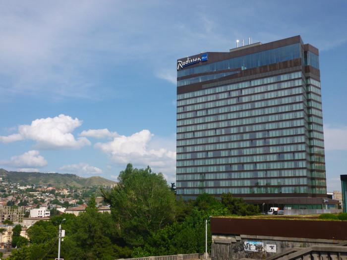 The Radisson Blu Iveria today.