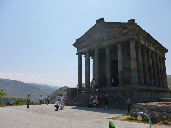 One final look at Garni Temple