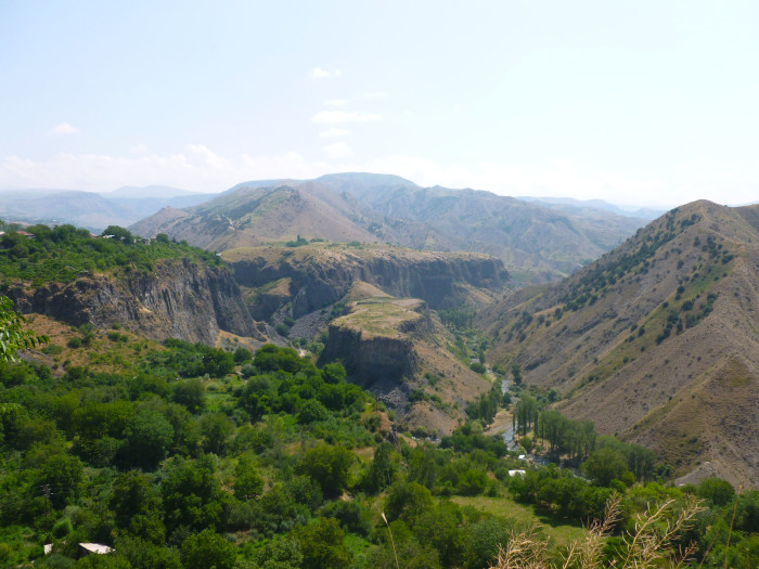 Looking left (east) from Garni Temple