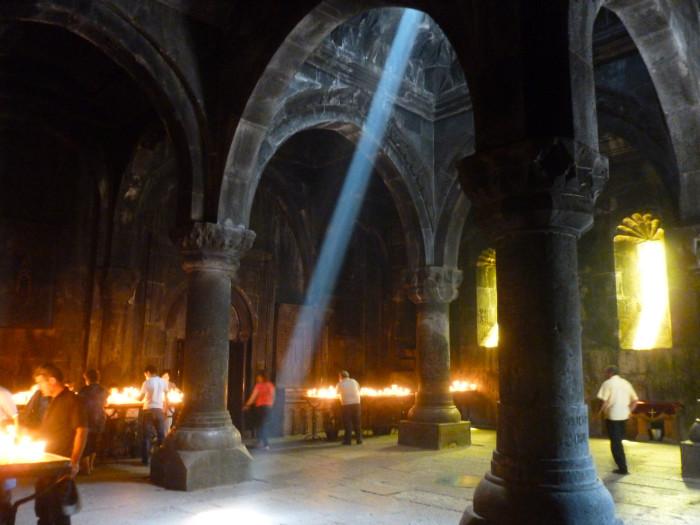 Inside the main church