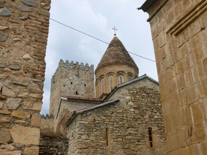Looking at the churches and towers