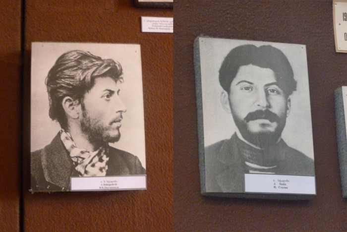 Young Stalin was a pretty good looking dude.