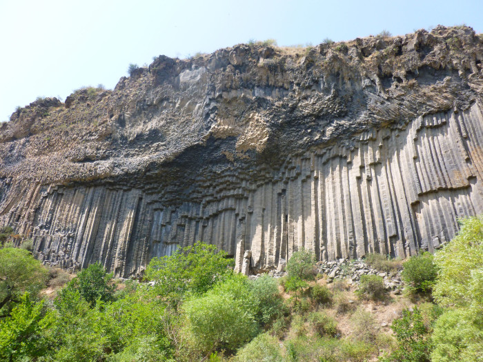 The Symphony of Stones in Garni Gorge
