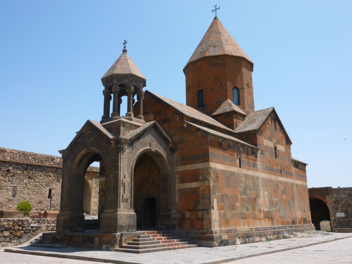 The church at Khor Virap was built in the 17th century