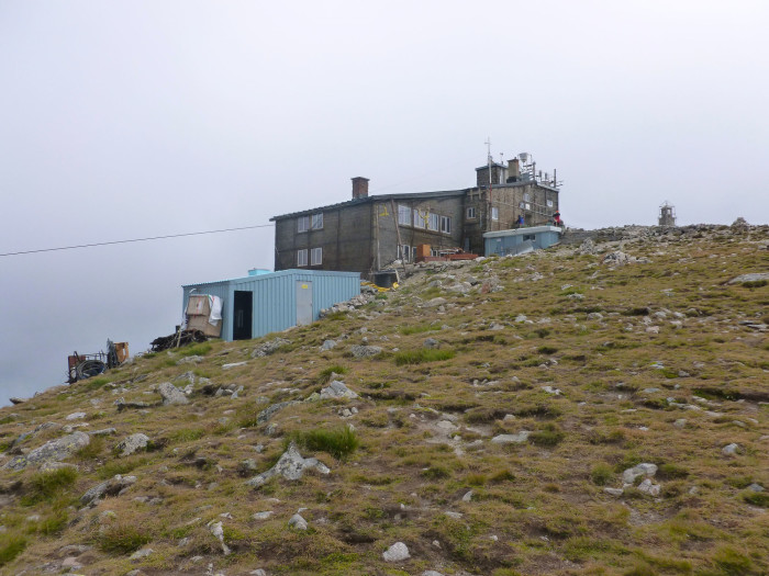 Another view of some of the buildings on the summit