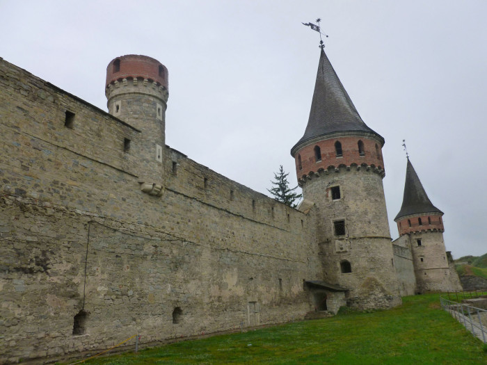 The KP Castle wall