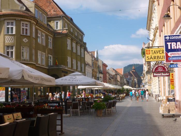 A street in Brasov