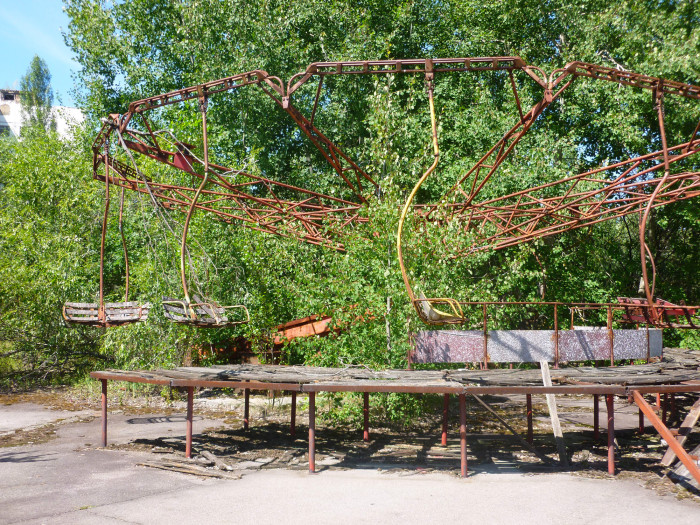 One of the other rides in Pripyat