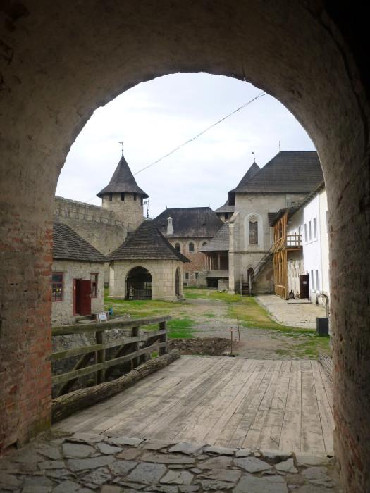 Inside Khotyn Fortress