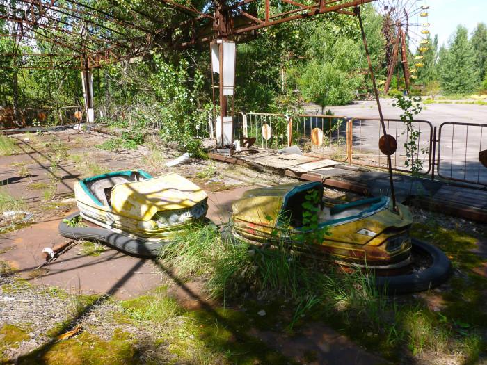 The bumper cars in Pripyat
