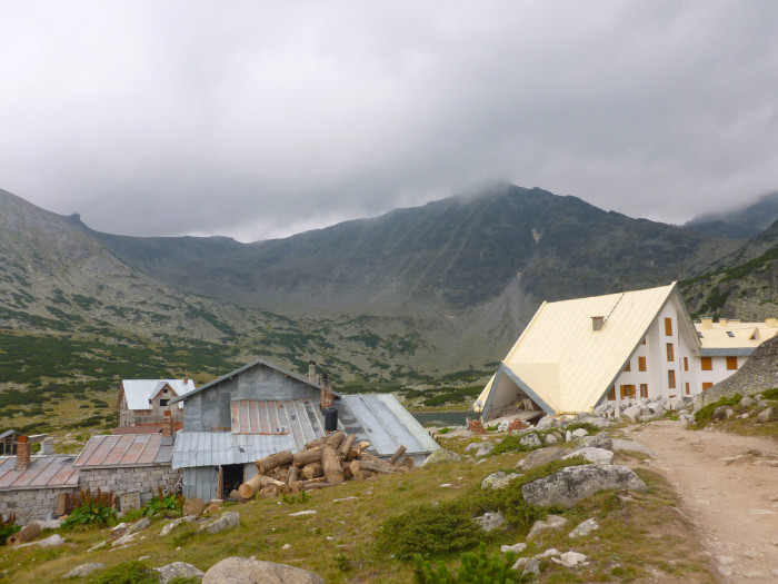 Musala Hut and the buildings around it