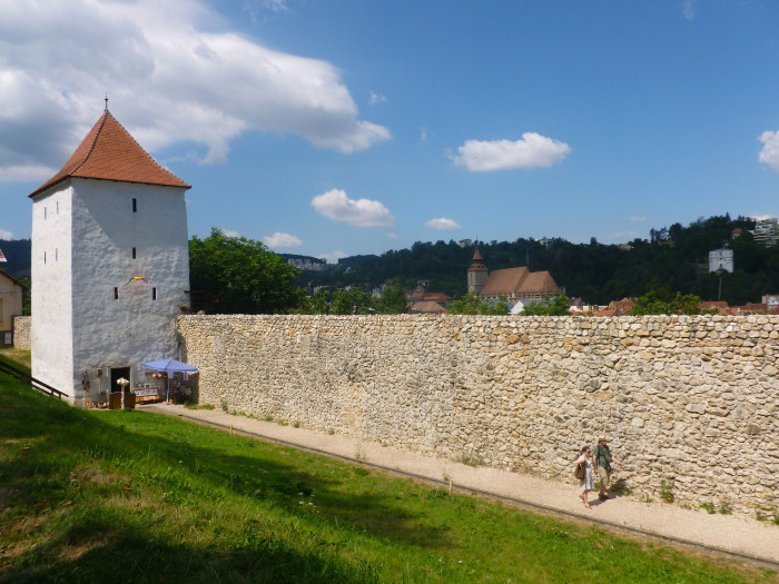 Part of the Brasov city wall