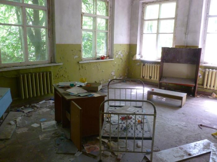 Inside the kindergarden