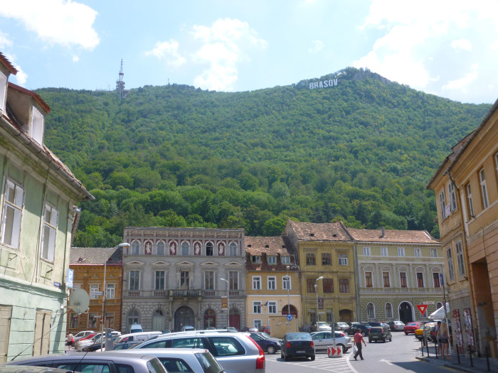 Tampa is the mountain above Brasov