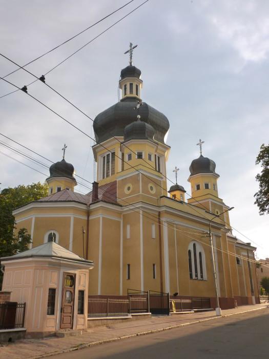 Another beautiful church in Chernivtsi