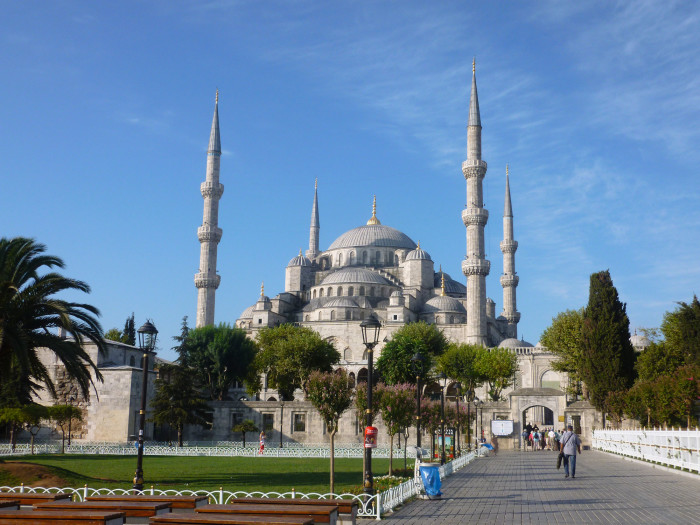 The Blue Mosque, which I think is the most beautiful building in the world