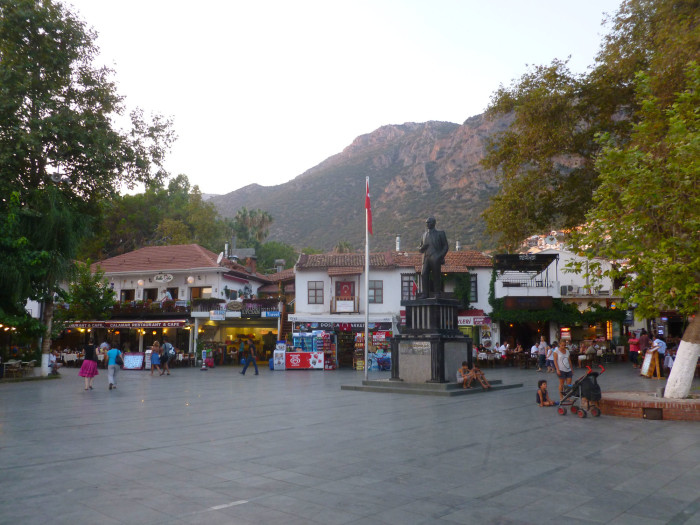 The main square of Kas