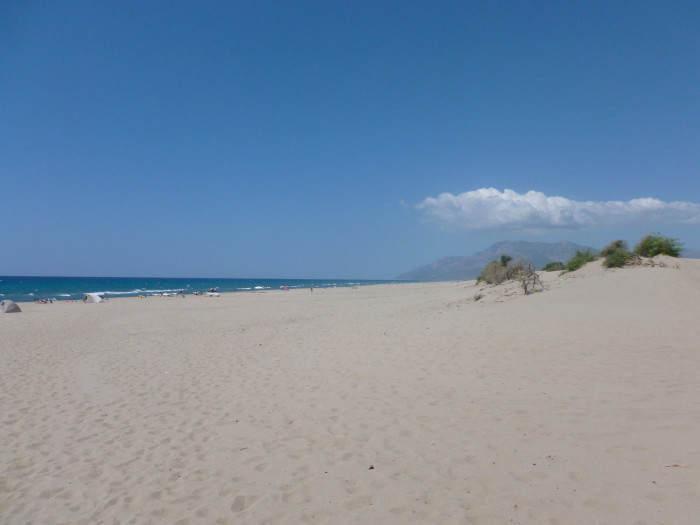 At 11 miles long, Patara Beach is reportedly the longest beach in Turkey.