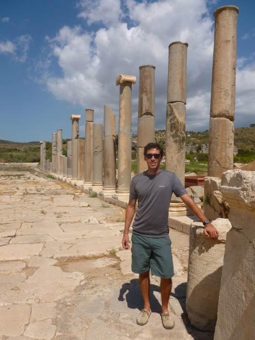 Me at some of the Patara ruins