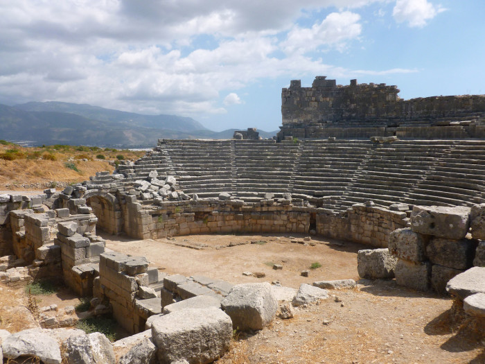 The Roman amphitheater at Xanthos