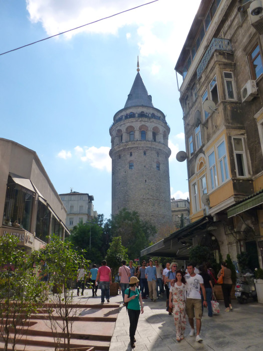 Galata Tower, built in 1348