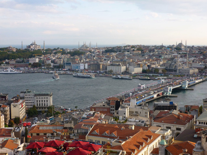 Istanbul has one of the greatest skylines ever
