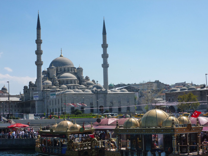 The New Mosque. It was built in 1665.
