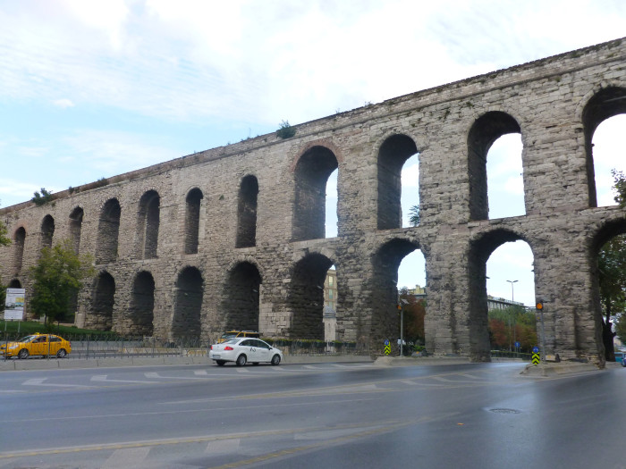 The Valens Aqueduct is a Roman creation dating back to the 4th century.