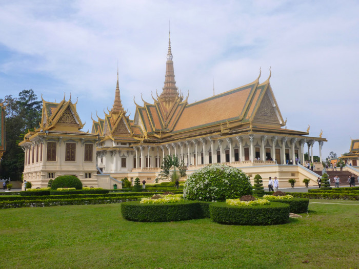 The Throne Hall in the Royal Palace