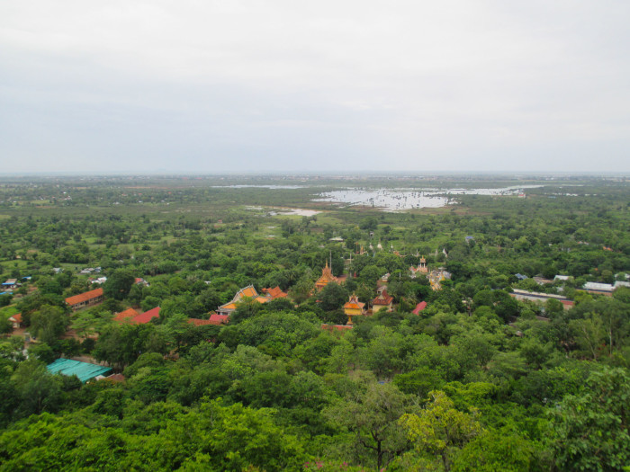 The view from the Udong hill
