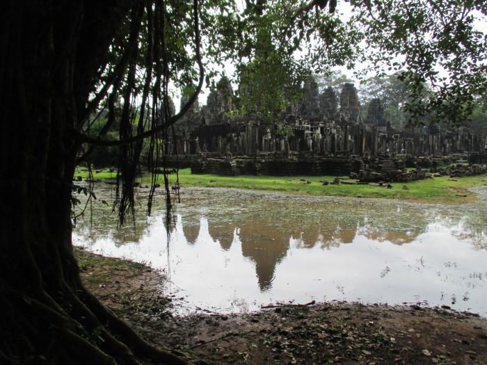Bayon and its moat