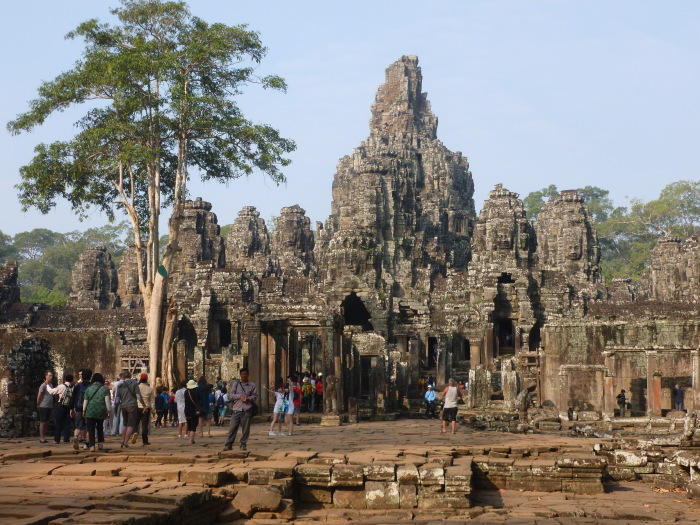 Bayon in the dry season
