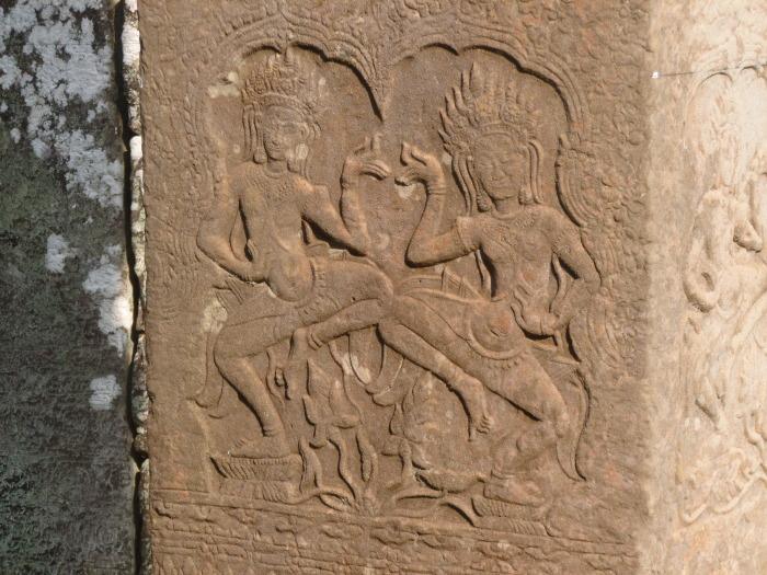 Carvings in Bayon
