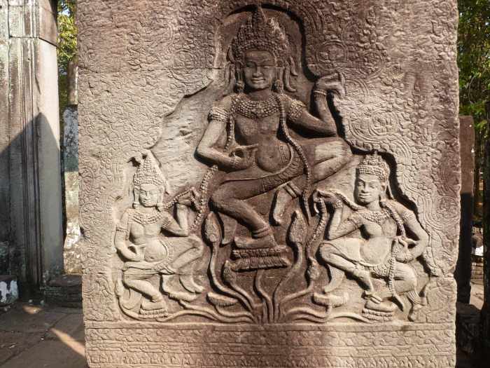 More carvings in Bayon